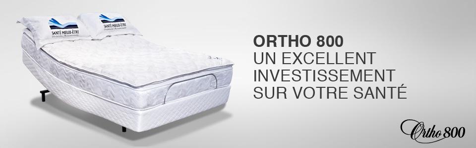 lit ajustable tempure 800 de ortho lit lectrique sommeil davantage. Black Bedroom Furniture Sets. Home Design Ideas