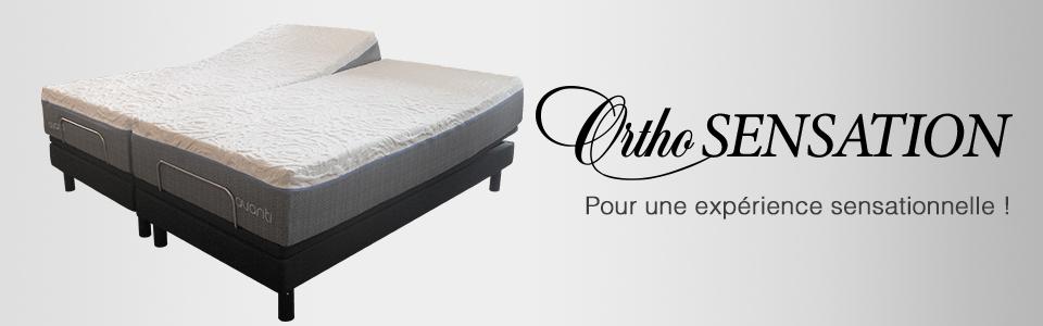 lit ajustable tempure sensation de ortho lit lectrique sommeil davantage. Black Bedroom Furniture Sets. Home Design Ideas
