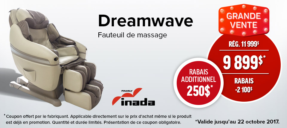 fauteuil de massage montr al fauteuils massages sommeil davantage. Black Bedroom Furniture Sets. Home Design Ideas