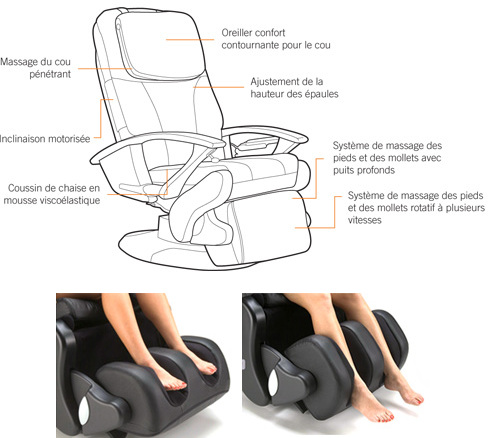 fauteuil de massage fauteuil massage cosmopolitan de shiatsu sommeil davantage. Black Bedroom Furniture Sets. Home Design Ideas