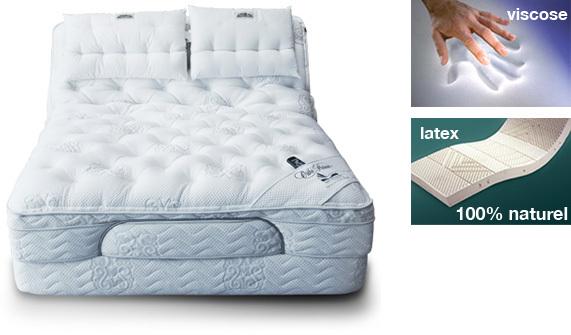 lit ajustable platinum de ortho lit lectrique sommeil davantage. Black Bedroom Furniture Sets. Home Design Ideas
