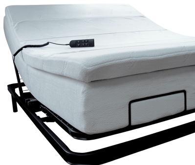 lit ajustable tempure 500 de ortho lit lectrique sommeil davantage. Black Bedroom Furniture Sets. Home Design Ideas