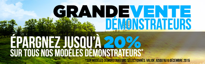 Promotion D�monstrateurs