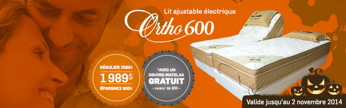 Lit ajustable Ortho 600